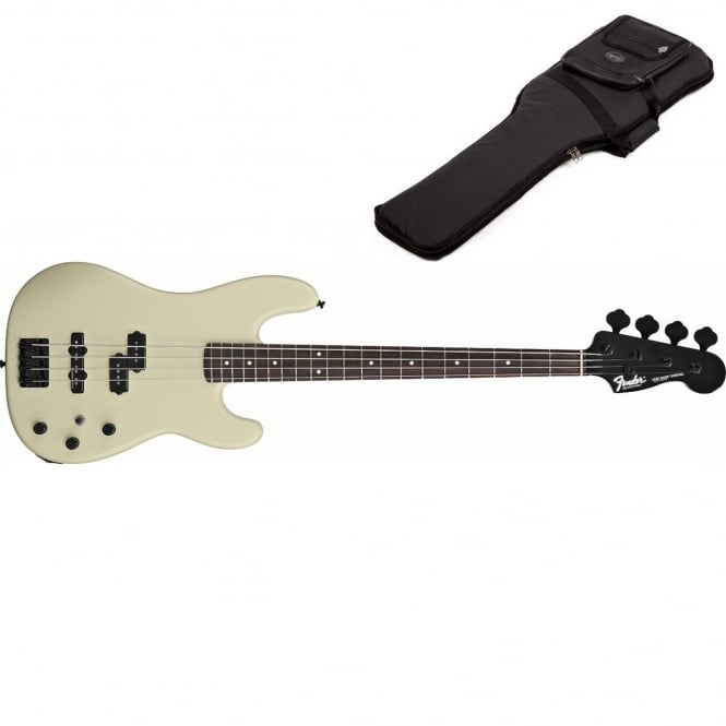 Duff McKagan Precision Bass | Rosewood Fingerboard | Pearl White | Includes Gigbag