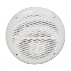 "E Audio 4"" Round Ceiling Speaker 60W With Moisture Resistant Twin Cone 4 Ohm"