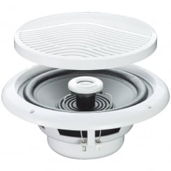 E Audio Round Ceiling Speaker With 2 Way Moisture Resistant Cone (SOLD AS PAIR) (Impedance (Ohms) 4 )