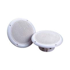 E Audio Round Ceiling Speaker With Moisture Resistant Cone 40W 8 Ohm