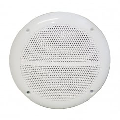 E Audio Round Ceiling Speaker With Moisture Resistant Cone 50W 4 Ohm