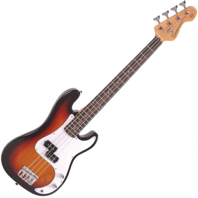 ENCORE 7/8 Bass Guitar | 3 Tone Sunburst