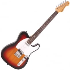 ENCORE E2SB Electric Guitar | 3 Tone Sunburst