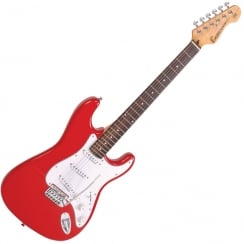 ENCORE E6RED Electric Guitar | Gloss Red