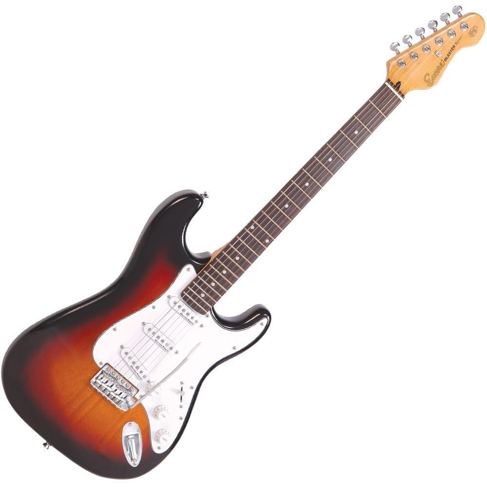 encore e6sb ellectric guitar 3 tone sunburst from rimmers music. Black Bedroom Furniture Sets. Home Design Ideas