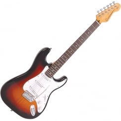 ENCORE E6SB ELlectric Guitar | 3 Tone Sunburst
