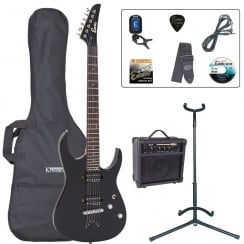 ENCORE EBP-E89BLK E89 Electric Guitar Outfit | Black