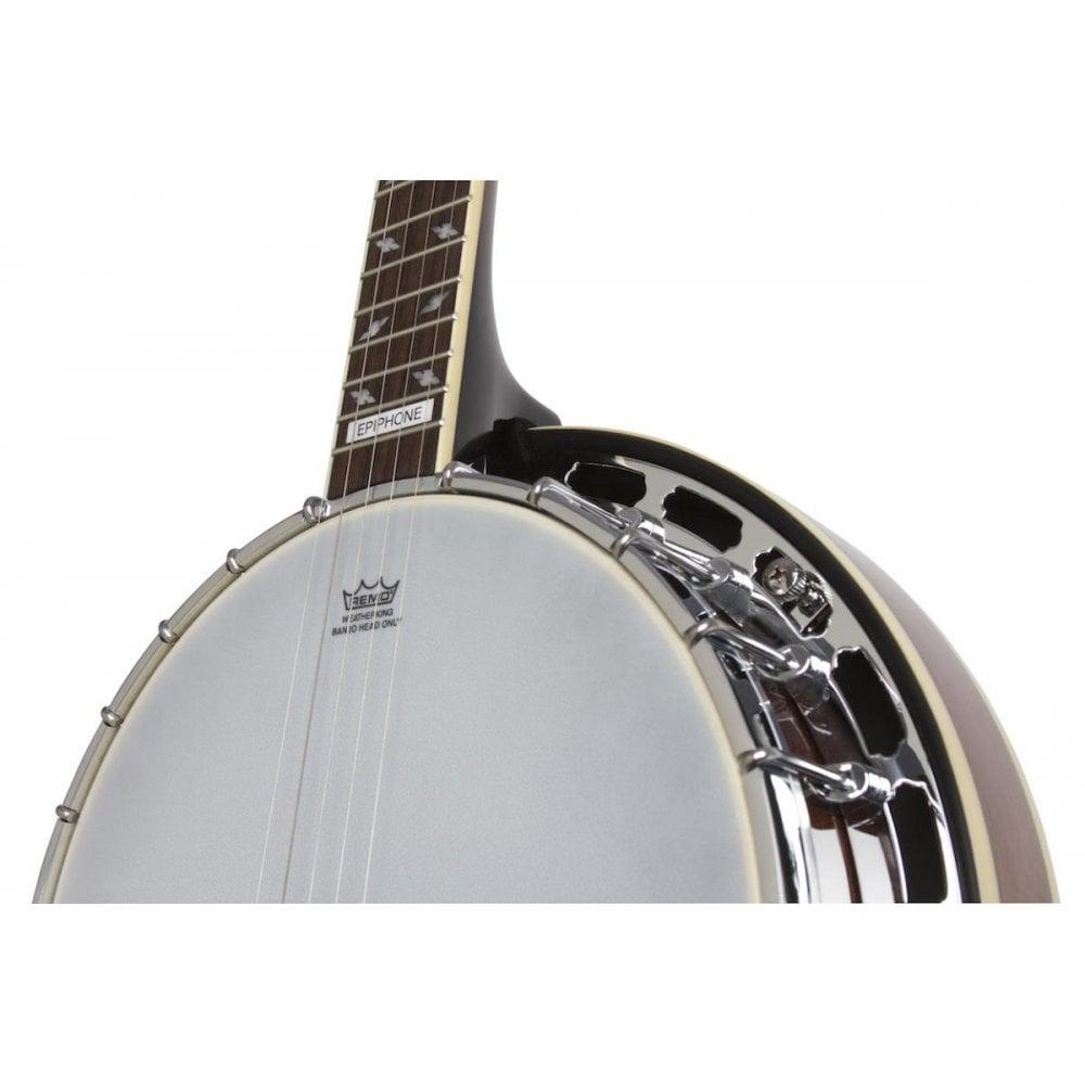 Epiphone Mayfair 5 String Banjo Red Brown Mahogany