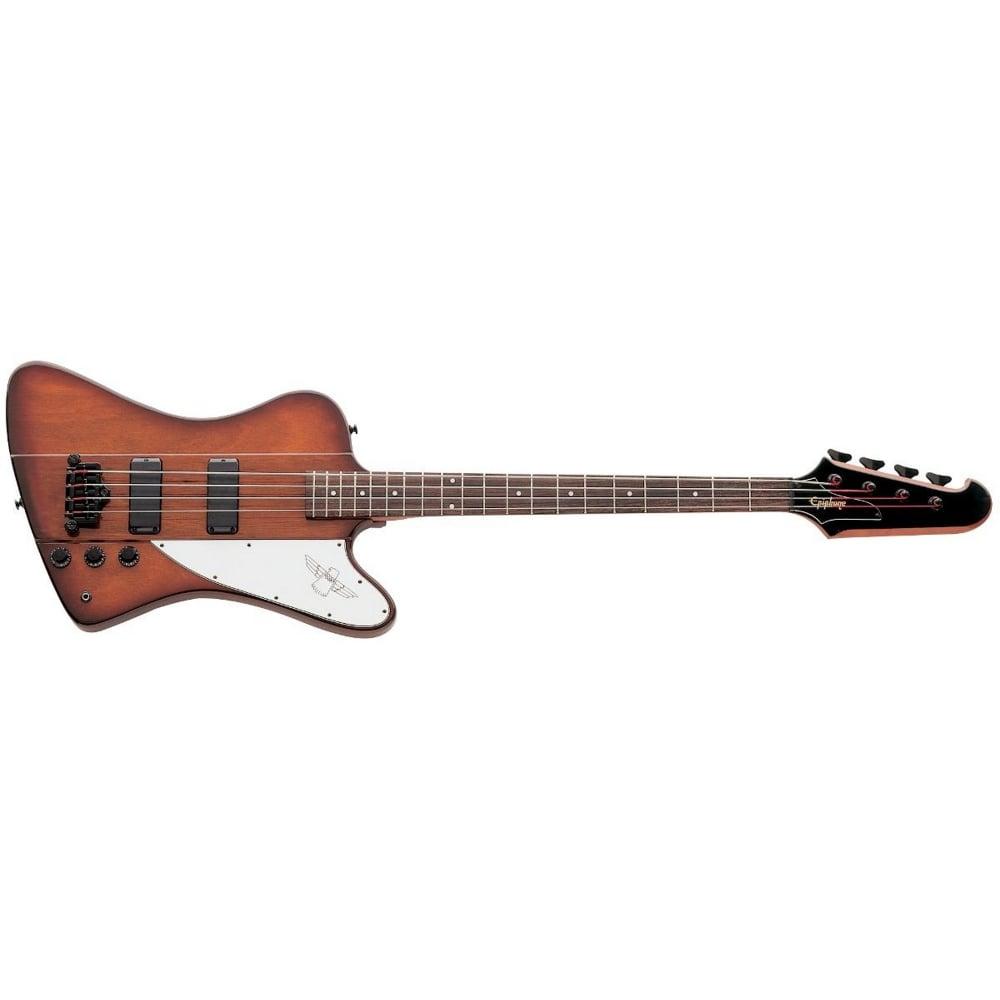 Epiphone Thunderbird Reverse Ebtbvsbh1 4 String Bass Guitar Vintage