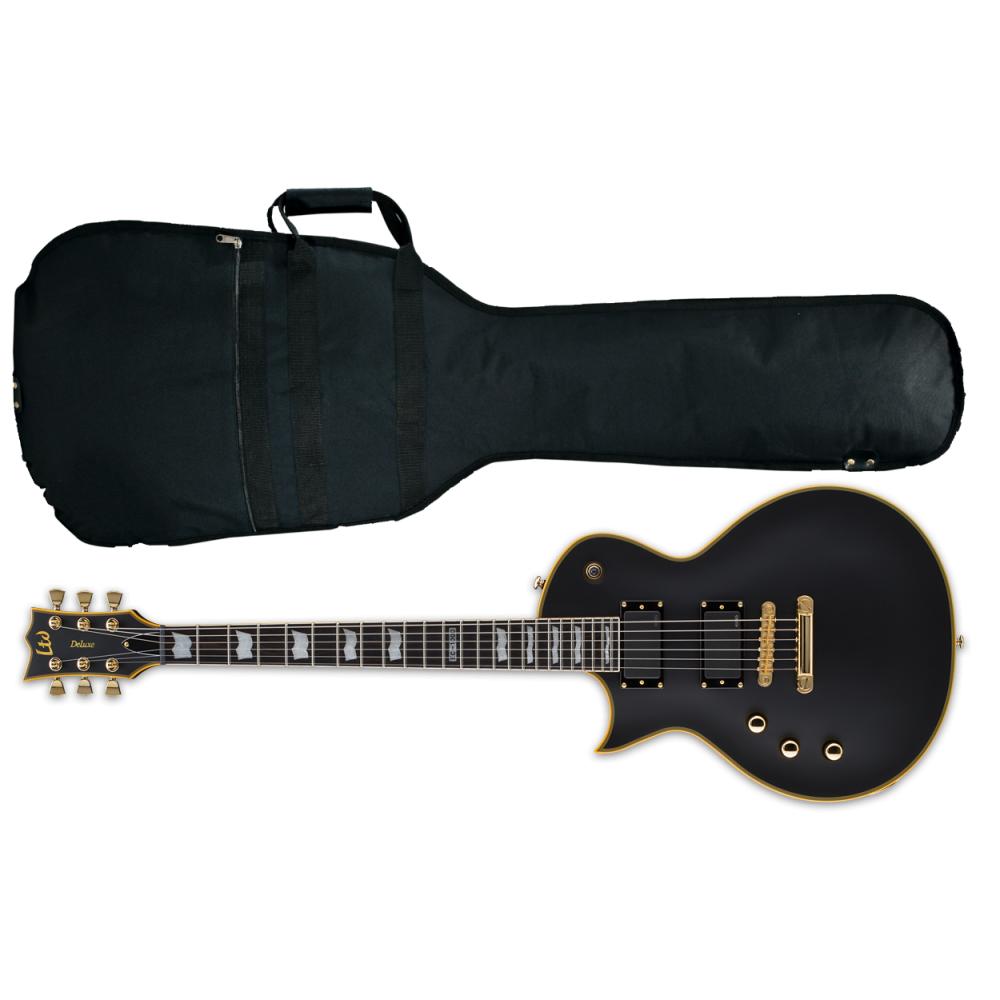 esp ltd ec 1000 lh left handed electric guitar vintage black. Black Bedroom Furniture Sets. Home Design Ideas