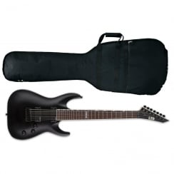 ESP LTD MH-207 Seven String Electric Guitar | Satin Black