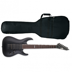 ESP LTD MH-417 7 String Electric Guitar | Black Satin