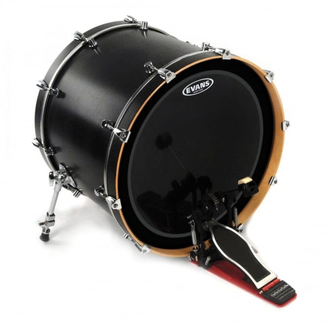 evans emad onyx bass drum head 18 inch with uk mainland delivery. Black Bedroom Furniture Sets. Home Design Ideas