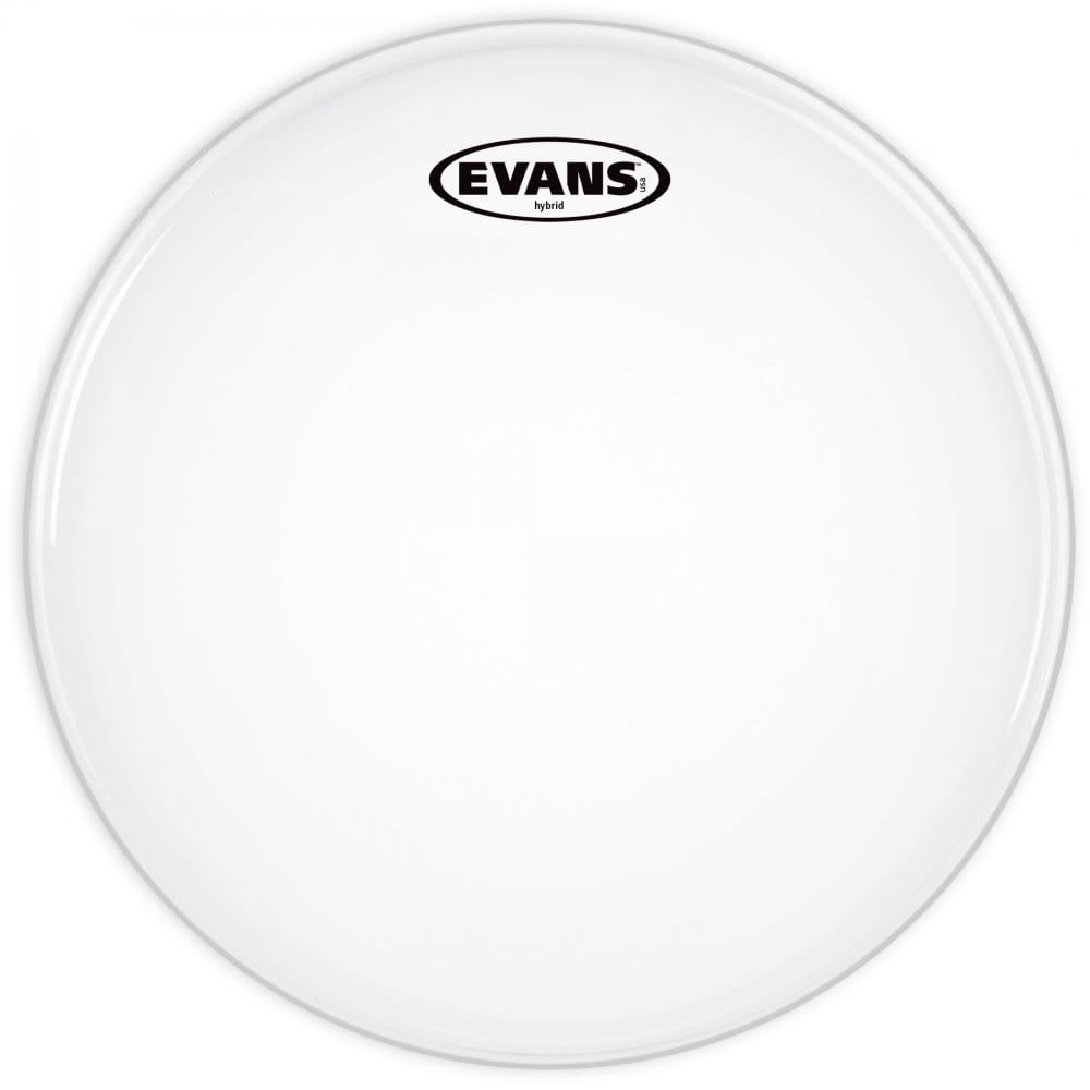 evans hybrid white marching snare drum head 13 inch. Black Bedroom Furniture Sets. Home Design Ideas