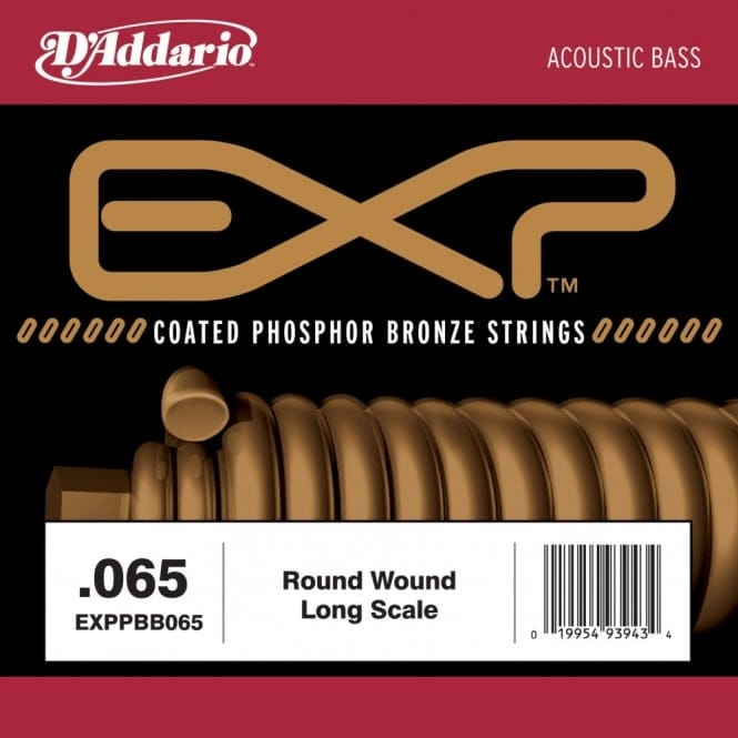 EXPXB065SL EXP Coated Nickel RoundWound Bass Guitar Single String .065