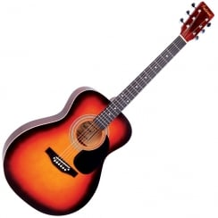 FALCON F300SB F300SB FOLK GUITAR - SUNBURST