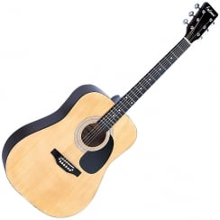 FALCON FG100N FG100N DREADNOUGHT ACOUSTIC GUITAR- NATURAL