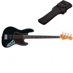 Fender 60s Jazz Bass | Black | Pau Ferro Neck | Includes Gigbag