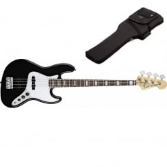 Fender 70s Jazz Bass | Black | Includes Gigbag