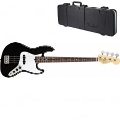 Fender American Standard J-Bass 2012 Series | Black | RW Neck | Includes Case