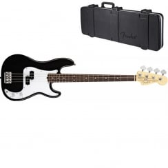 Fender American Standard P-Bass 2012 Series | Black | RW Neck | Includes Case