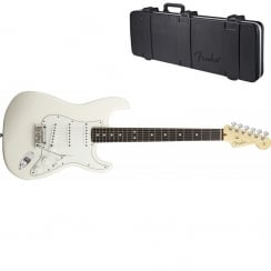Fender American Standard Stratocaster 2012|Olympic White|RW Neck | Includes Case