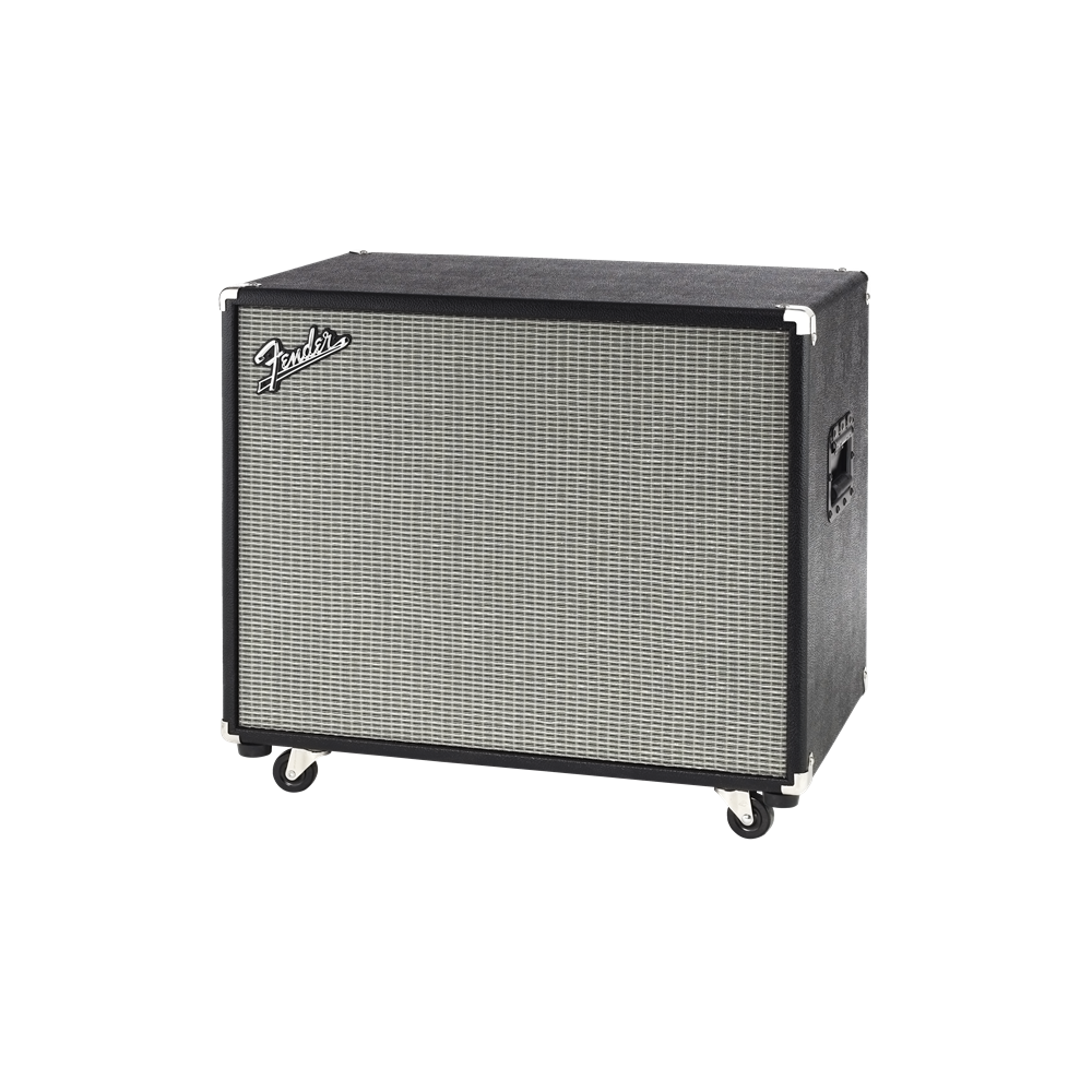 Fender bassman 115 neo 1x15 bass cabinet black silver for Black and silver cabinet