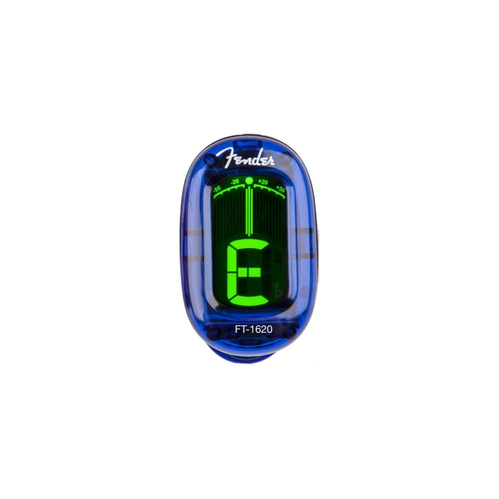 fender california clip on chromatic tuner guitar blue from rimmers mus. Black Bedroom Furniture Sets. Home Design Ideas