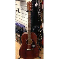 Fender CD140s All Mahogany Acoustic Guitar | Ex Display