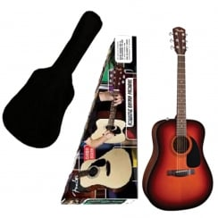 Fender CD60 Acoustic Guitar Pack Sunburst