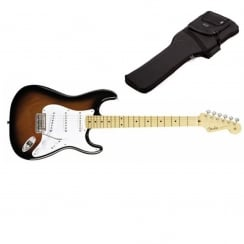 Fender Classic Player `50s Stratocaster | 2 Tone Sunburst | Maple Neck | Includes Gigbag