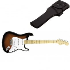 Fender Classics `50s Stratocaster | 2 Tone Sunburst | Maple Neck | Includes Gigbag