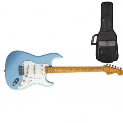 Fender Classics `50s Stratocaster | Daphne Blue | Maple Neck | Includes Gigbag
