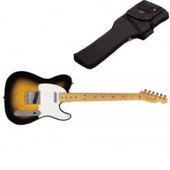 Fender Classics `50s Telecaster | 2 Tone Sunburst | Maple Neck | Includes Gigbag
