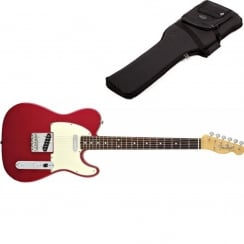 Fender Classics `60s Stratocaster | Candy Apple Red | Pau Ferro Neck | Includes Gigbag