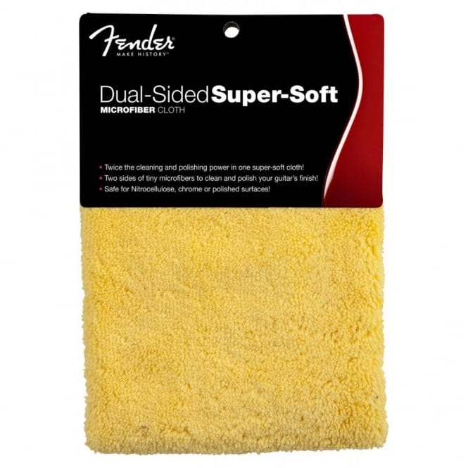 Fender Dual Sided Super Soft Microfiber Cloth