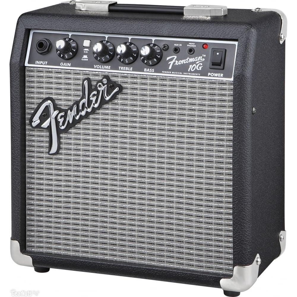 fender frontman 10g guitar amp rimmers music. Black Bedroom Furniture Sets. Home Design Ideas