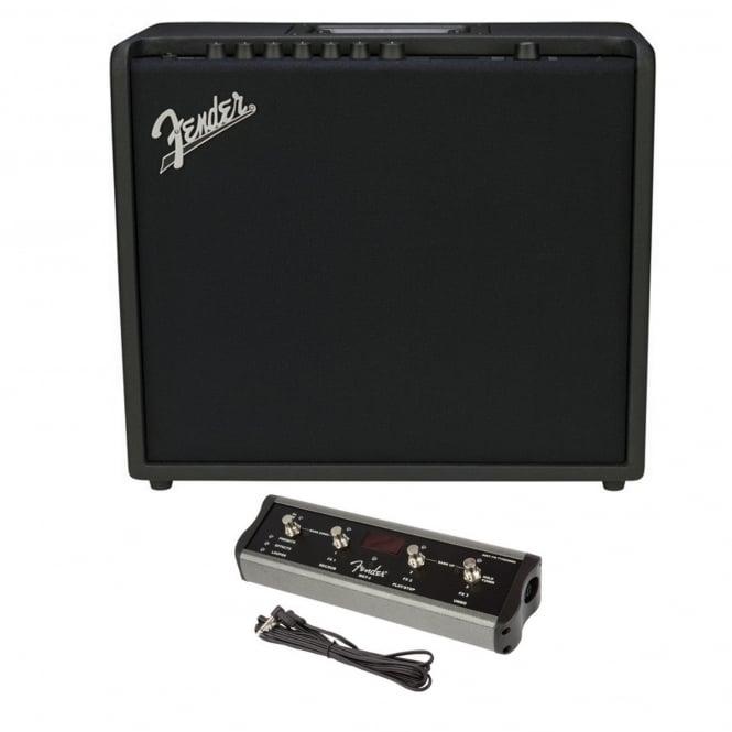 fender mustang gt 100 amp includes 4 way footswitch. Black Bedroom Furniture Sets. Home Design Ideas