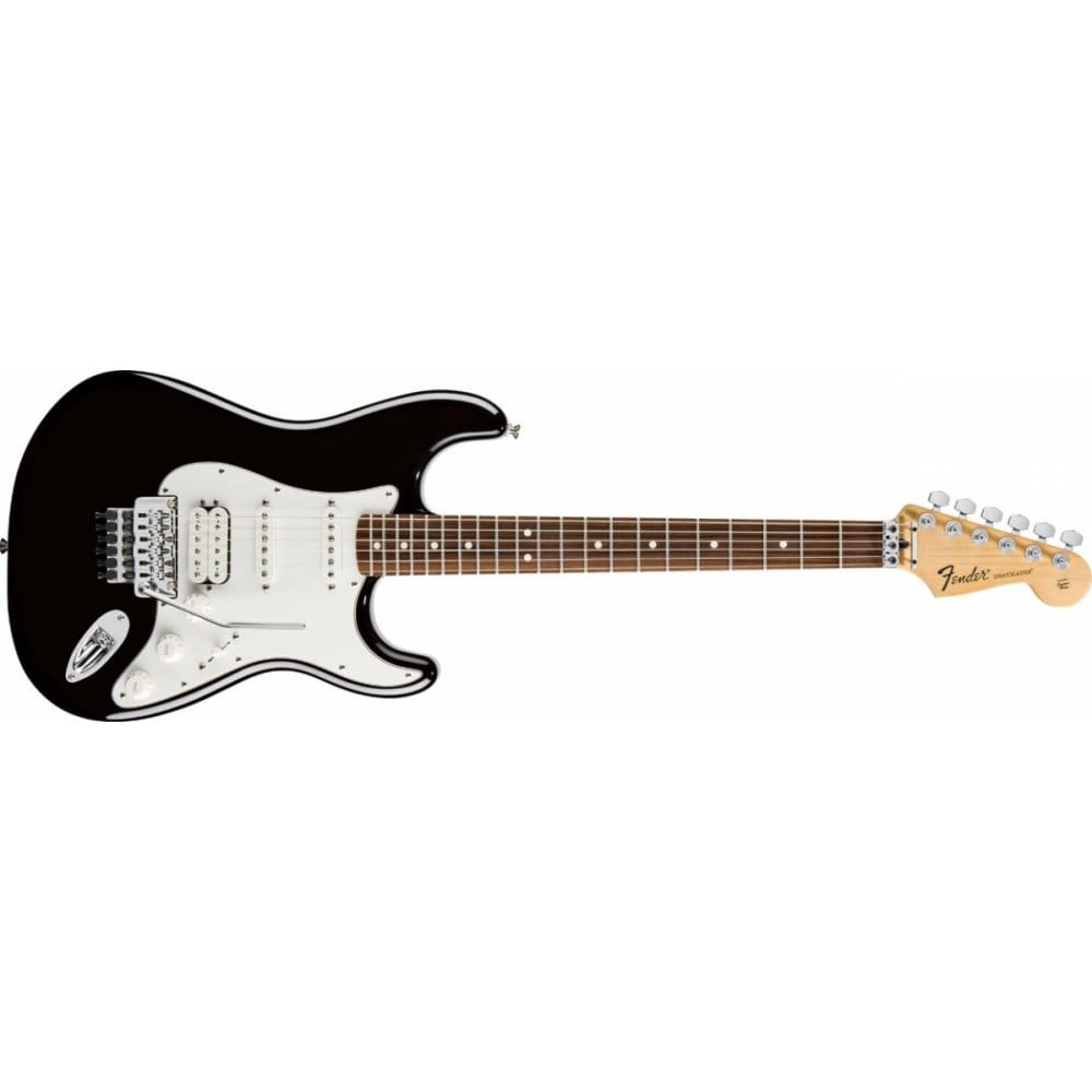Magnificent Pit Bike Wiring Tall 2 Humbuckers In Series Square One Humbucker One Volume Wiring Remote Start Alarm Installation Youthful 3 Pickup Guitar FreshWiring 1 2 3 Standard HSS Stratocaster | Black | PF Tinted | Includes Gigbag