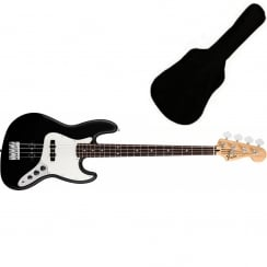 Fender Standard Jazz Bass | Black | PF Tinted Neck | Includes Gigbag