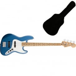 Fender Standard Jazz Bass | Lake Placid Blue | MN Tinted Neck | Includes Gigbag