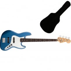 Fender Standard Jazz Bass | Lake Placid Blue | PF Tinted Neck | Includes Gigbag
