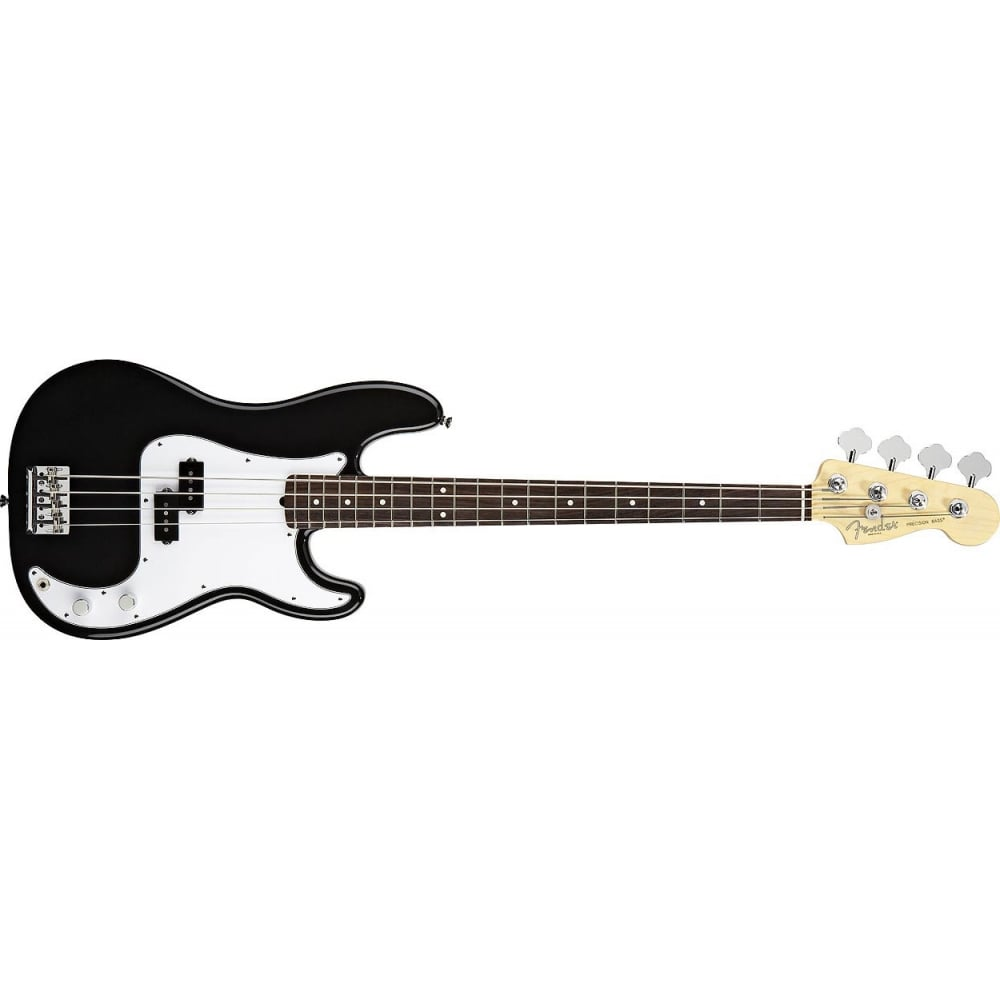 fender mexican standard precision bass black pf tinted from rimmer. Black Bedroom Furniture Sets. Home Design Ideas
