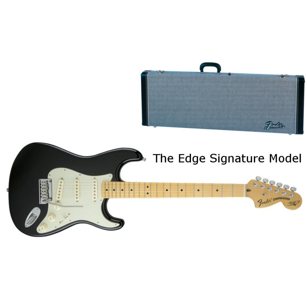 Fender The Edge Strat Maple Fingerboard, Black