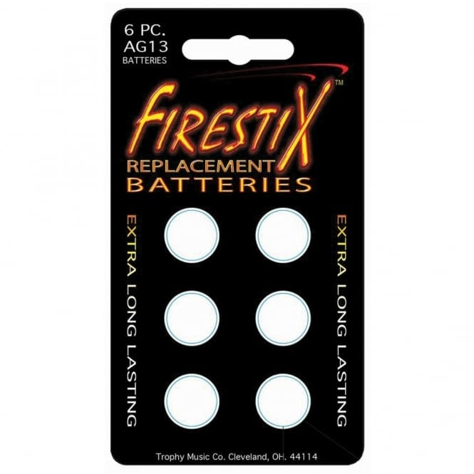 FIRESTIX FXRB BATTERIES- PACK OF 6