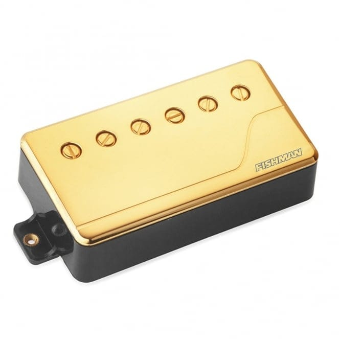 FISHMAN PRF-CHB-NG1 FLUENCE MULTI VOICE PICK UP - CLASSIC HUMBUCKER NECK -GOLD