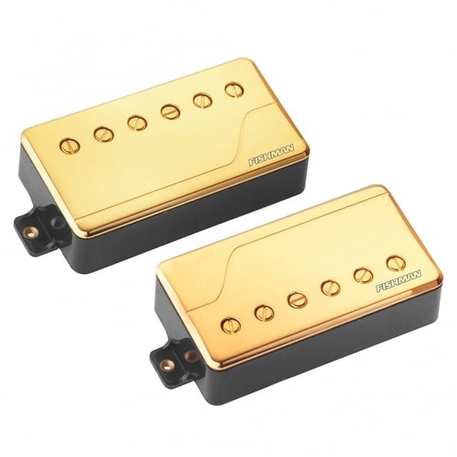 FISHMAN PRF-CHB-SG2 FLUENCE MULTI VOICE PICK UP - CLASSIC HUMBUCKER SET -GOLD