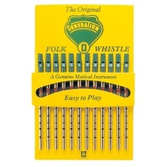 Generation Music Flageolet Counter Display Card with 12 D Whistles