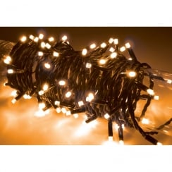 Fluxia 90 LED heavy duty static string light - Amber