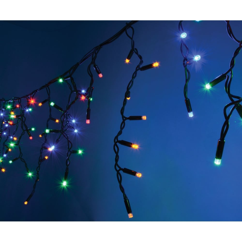 String Lights Music : Heavy Duty Icicle String Lights MC from Rimmers Music
